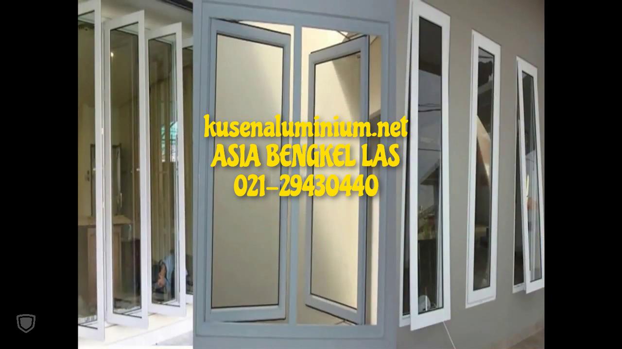 Jual Kusen Aluminium Per Meter Alexindo dan YKK Jakarta