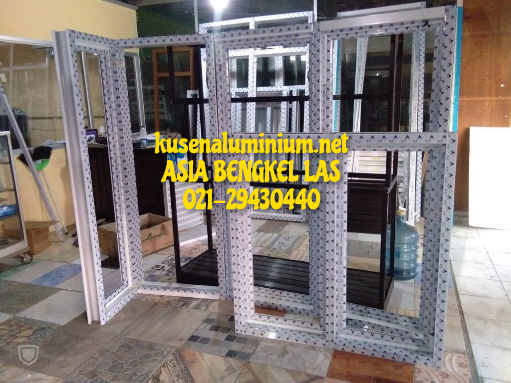 Harga Jendela Aluminium Swing Per Unit Alexindo dan YKK Jakarta
