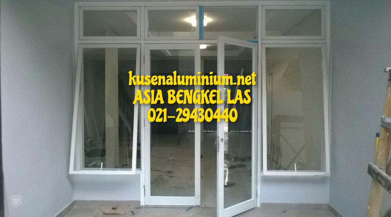 Harga Jendela Aluminium Kaca Mati Per Unit Alexindo dan YKK Jakarta