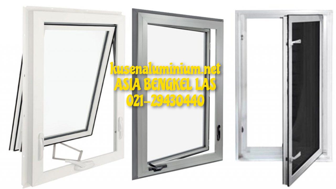 Harga Jendela Aluminium Geser Per Unit Alexindo dan YKK Jakarta