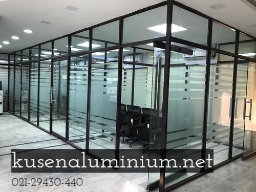 Produksi Jual Partisi Aluminium Per Meter Elegan Bekasi