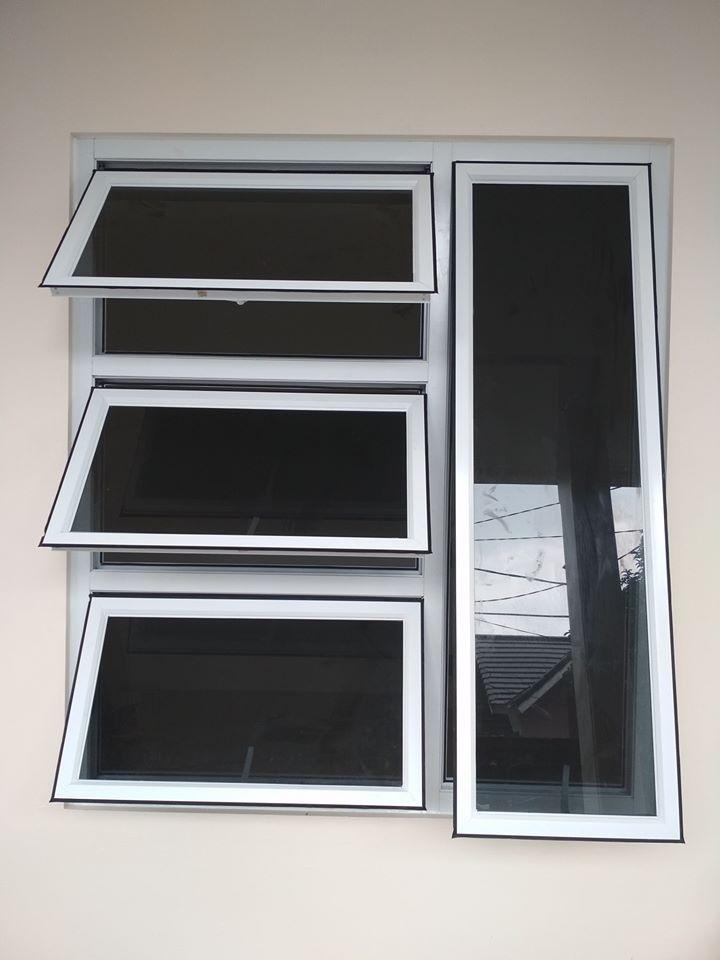 Harga Pintu Kamar Mandi Aluminium  Per Unit Sudah Jadi